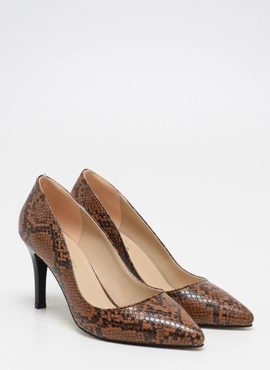 F By Fabrika Kadın Vizon Ayakkabı ROSSI Taba